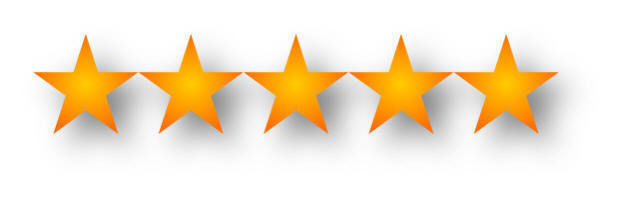 5-Star Excellent Rating
